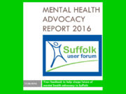 SUF Advocacy Report