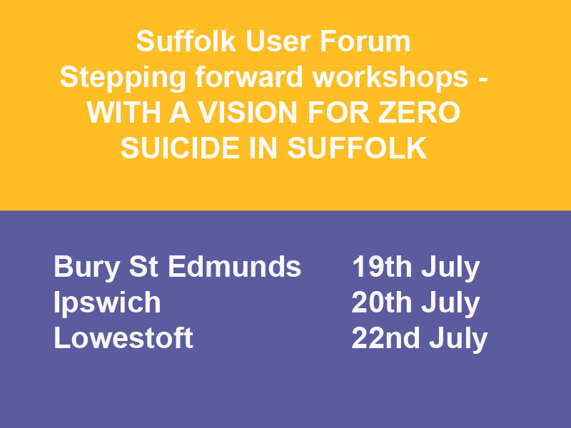 Stepping Forward Workshops