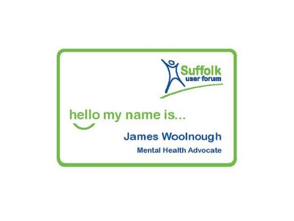 Name badge image