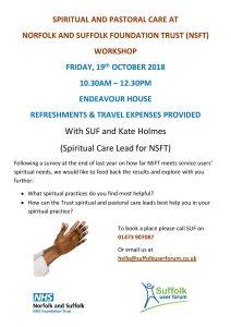 Spirituality event Poster